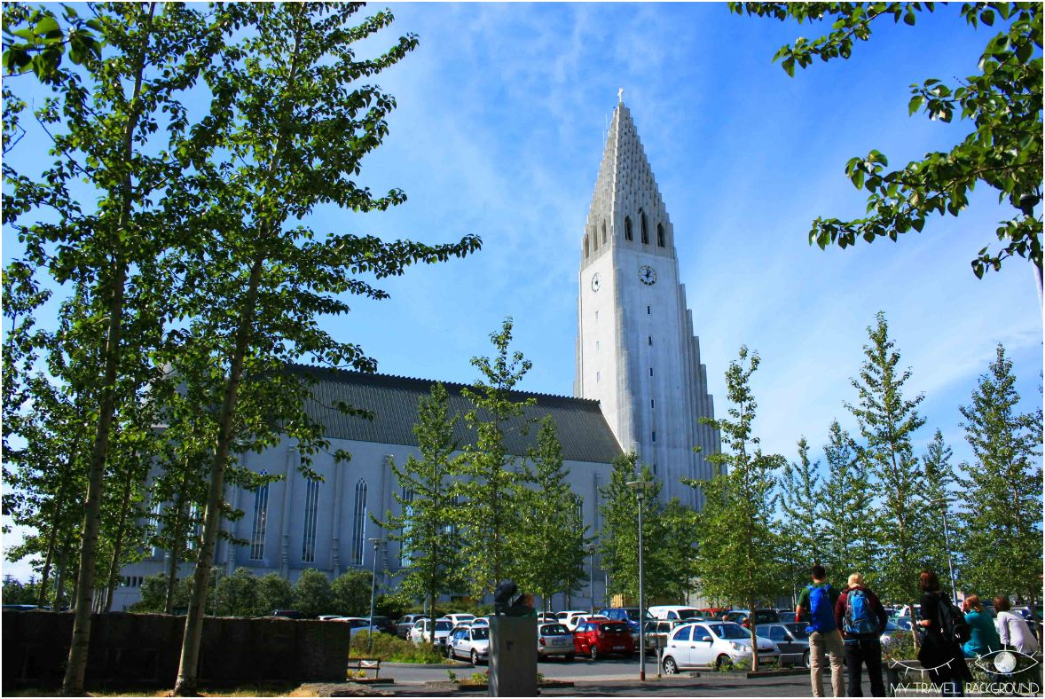 My Travel Background : que voir à Reykjavik? Visiter la ville en 1 jour, les essentiels - Eglise Hallgrimskirkja