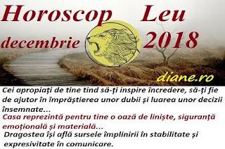 Horoscop Leu decembrie 2018