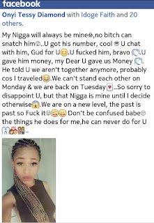 See What This Pretty Lady Wrote About Her Guy
