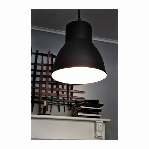 Lampara de Ikea hektar