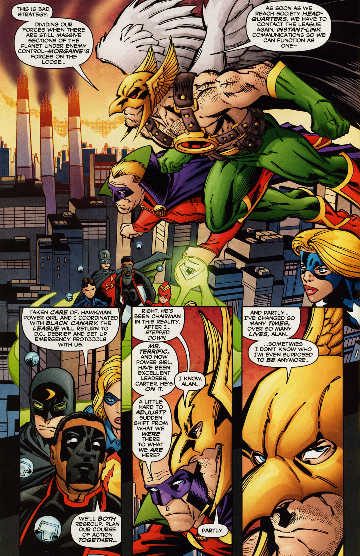 Read online Trinity (2008) comic -  Issue #42 - 19