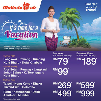 Malindo Air All-in Fare Flight Ticket Discount Offer Promo