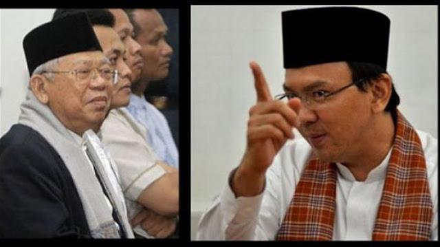 Jokowi Pilih Maruf Amin, Adik Ahok Kirim Ayat Mengasihi Musuh