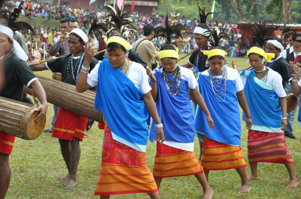 to celebrate Wangala aka the Hundred Drums Festival IndiabesttravelMap; Celebrating the Wangala Festival inwards Meghalaya's Garo Hills