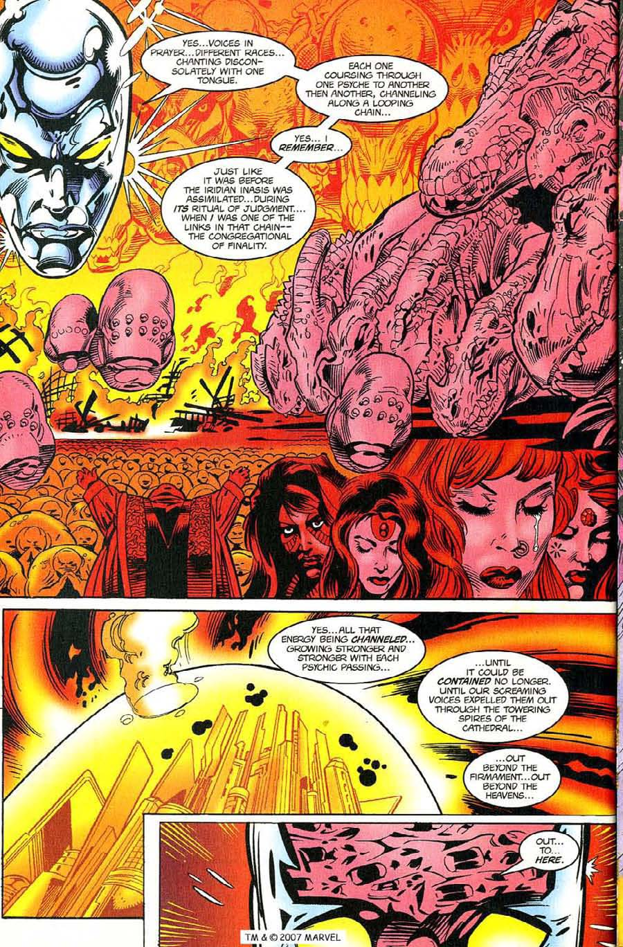 Read online Silver Surfer (1987) comic -  Issue #119 - 28