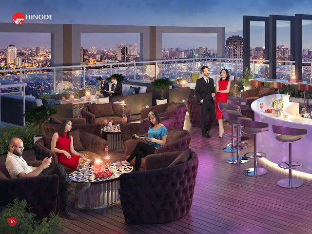 Sky Bar tại Hinode City
