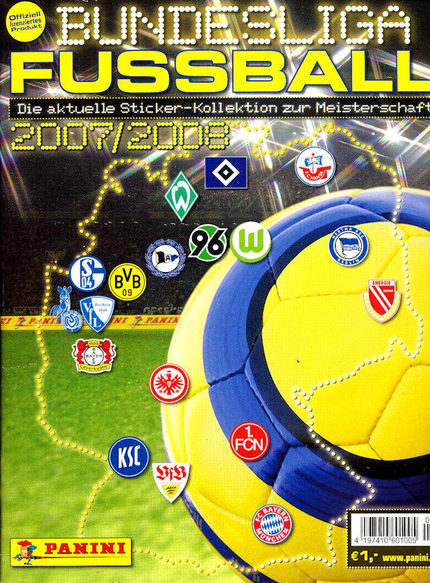 Panini 20 BL Fussball 2007//08 Arne Friedrich Hertha BSC Berlin