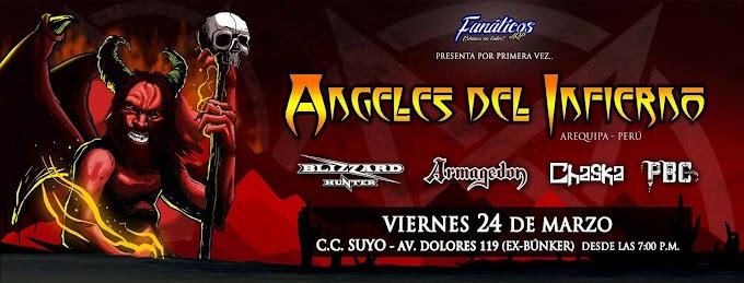 Ángeles del Infierno en Arequipa - 24 de marzo