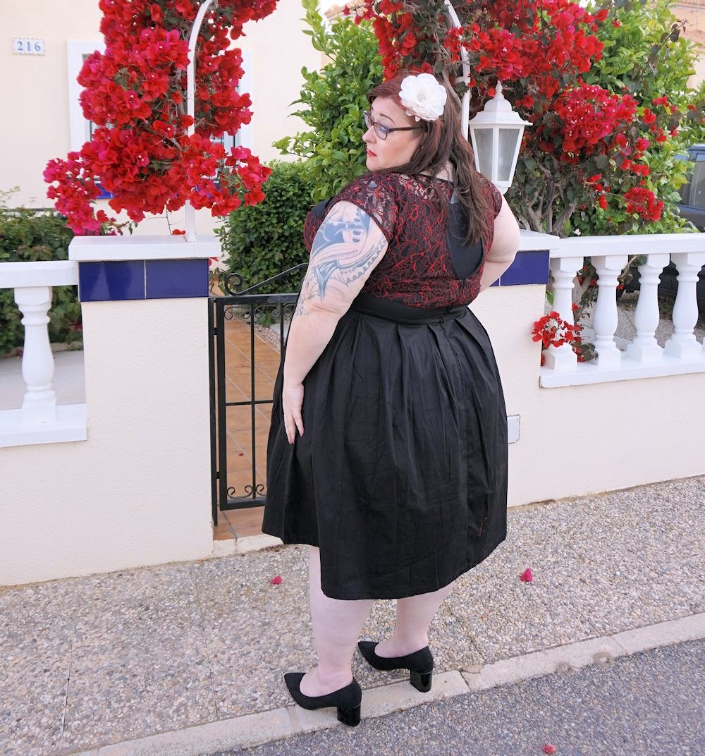 Lindy bop verona plus size swing dress love leah for Lindy bop wedding dress