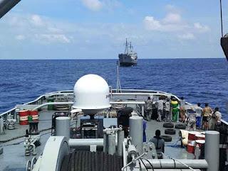 Sistem SATCOM di Kapal Perang TNI AL