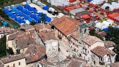 földrengés, Olaszország, olaszországi földrengés, Castelsantangelo sul Nera, Fabrizio Curcio, Pescara del Tronto