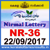 keralalotteries, kerala lottery, keralalotteryresult, kerala lottery result, kerala lottery result live, kerala lottery results, kerala lottery today, kerala lottery result today, kerala lottery results today, today kerala lottery result, kerala lottery result 22.09.2017 nirmal lottery nr 36, nirmal lottery, nirmal lottery today result, nirmal lottery result yesterday, nirmal lottery nr36, nirmal lottery 22.9.2017, 22-9-2017 kerala result