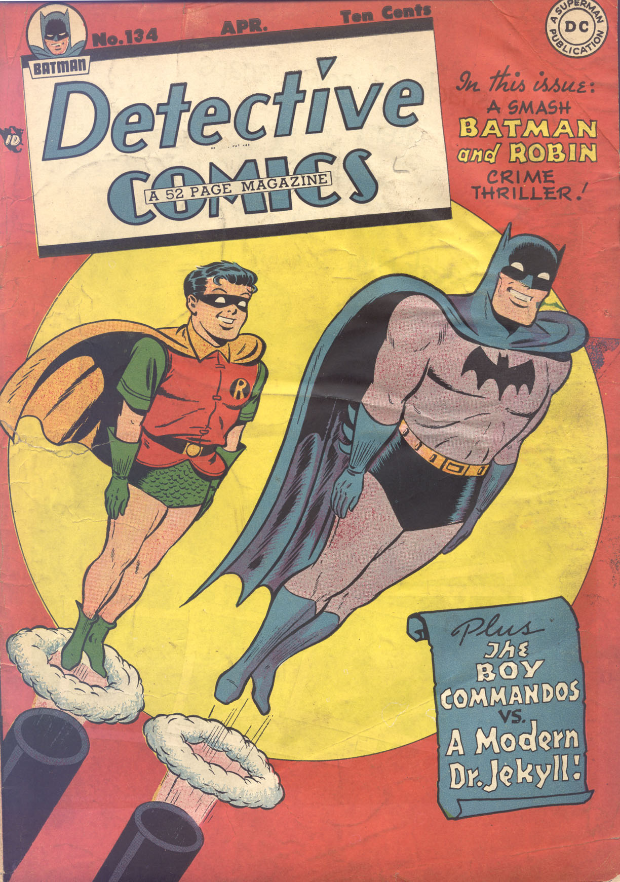 Detective Comics (1937) 134 Page 1