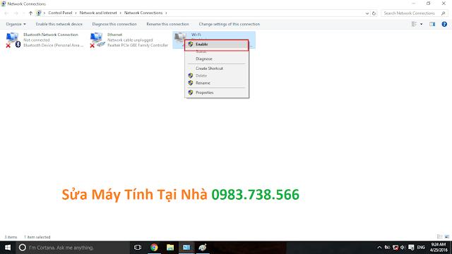 Lỗi không vào được mạng Internet - H04