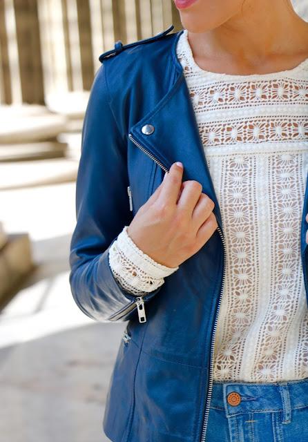blouse veste cuir 1 2 3