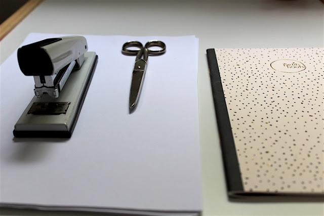 Material libreta DIY