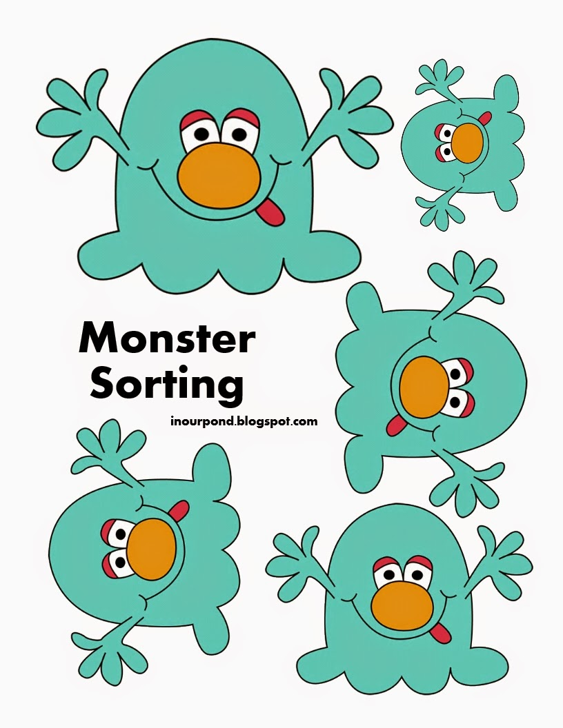 In Our Pond M is for Monster year 2 week 26 – Monster Math Worksheets