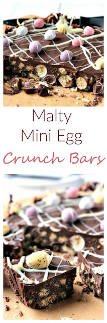 Malty Mini Egg Crunch Bars