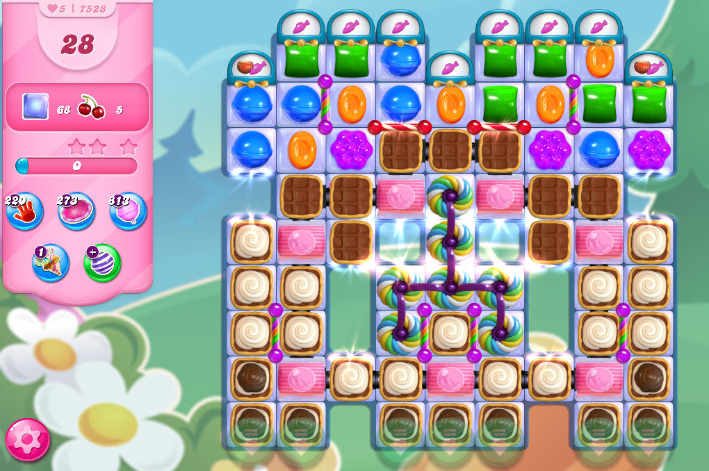 Candy Crush Saga level 7582