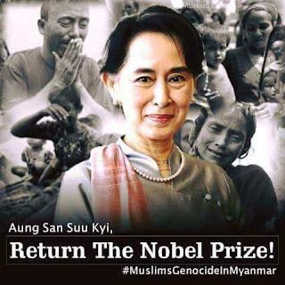 Bana Tsoron Bincike Akan Musilmin Kasata inji -shugabar kasar Myanmar