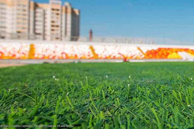 Умные технологии во имя футбола на стадионе «Луч»