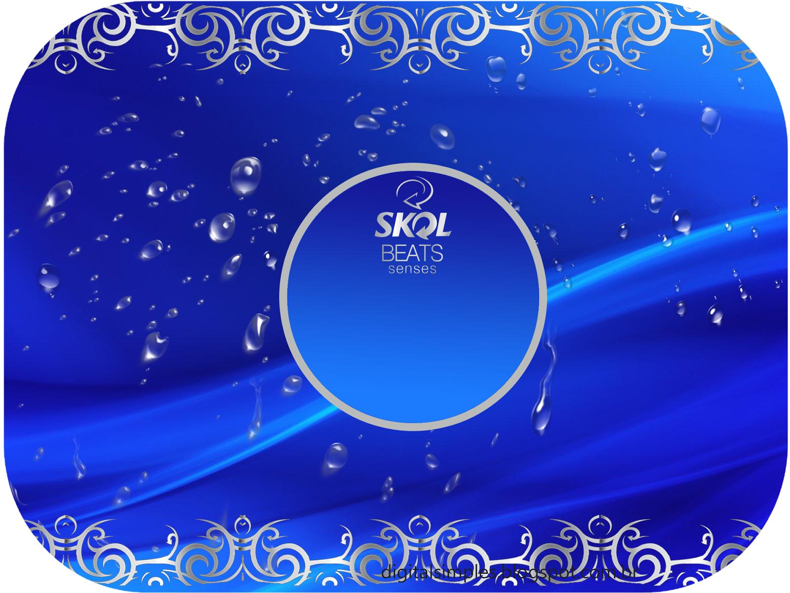 Kit Festa Aniversário Boteco Skol Beats Senses Convites Digitais