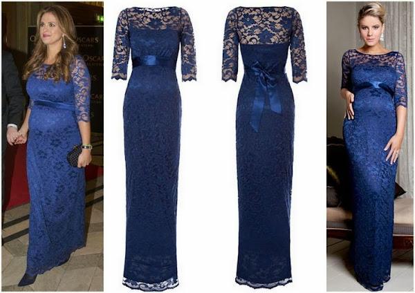 Princess Madeleine Wore Tiffany Rose Lace Maternity Dress