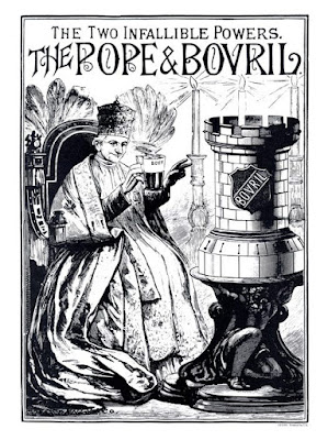Pope Leo and Bovril
