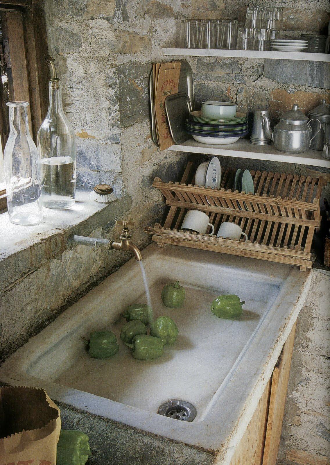 Simple Farmhouse Kitchen Table