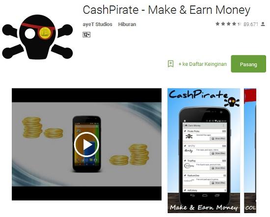 aplikasi android penghasil uang rupiah