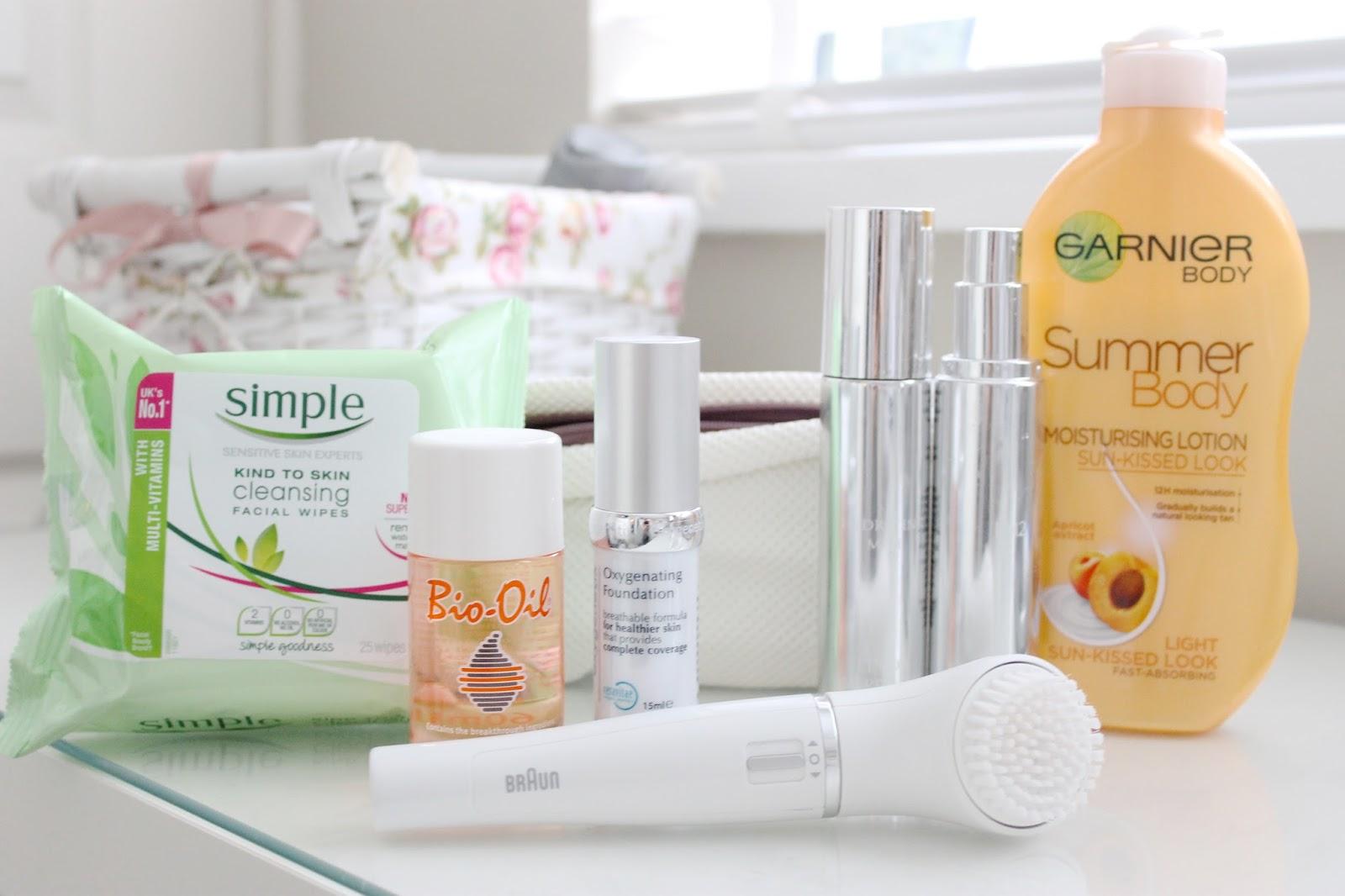 skincare routine,