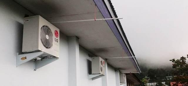 Posisi Pemasangan Outdoor AC