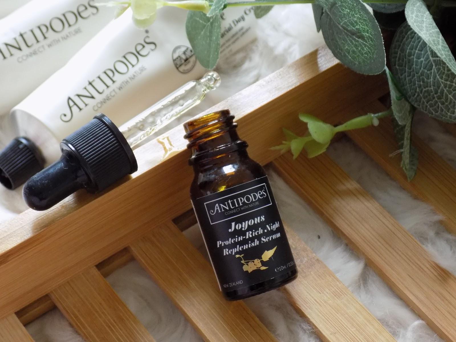Antipodes Joyous Protein Rich Night Replenish Serum