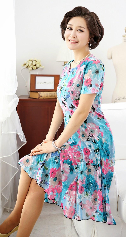 Middle-Agedolder Womens Fashion Clothing Apparel-9330