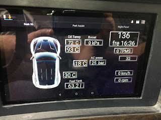 Saab og9-5 -06 ARC with Canbus-Android bluetooth connection