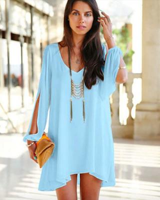 8e07170fb9 Sukienka plażowa - Letnia sukienka mini Glamour