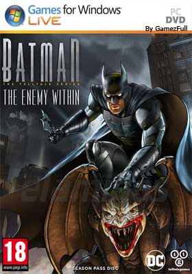descargar Batman The Enemy Within The Telltale Series Complete Season pc full español mega y google drive