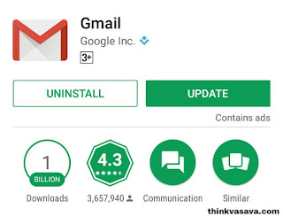 Play store se Gmail app download kare
