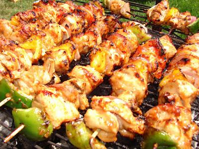 Brochette Makanan Khas Maroko
