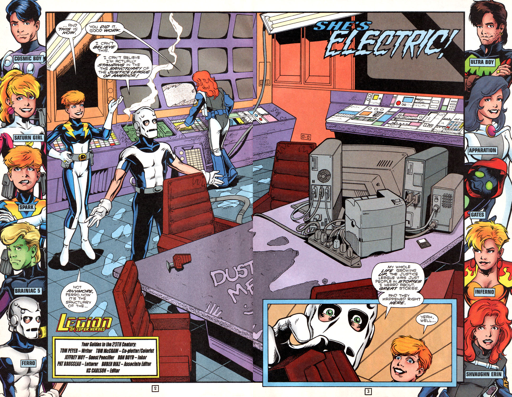 Legion of Super-Heroes (1989) 89 Page 2