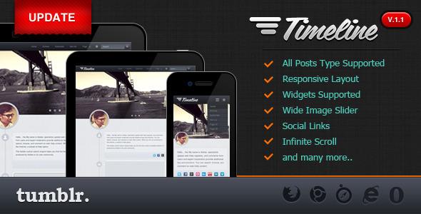 Timeline v1.1 – Premium Tumblr Theme