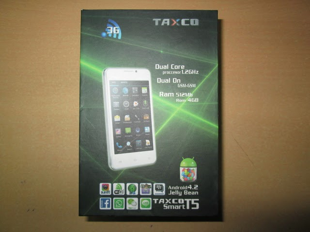 Taxco T5 android