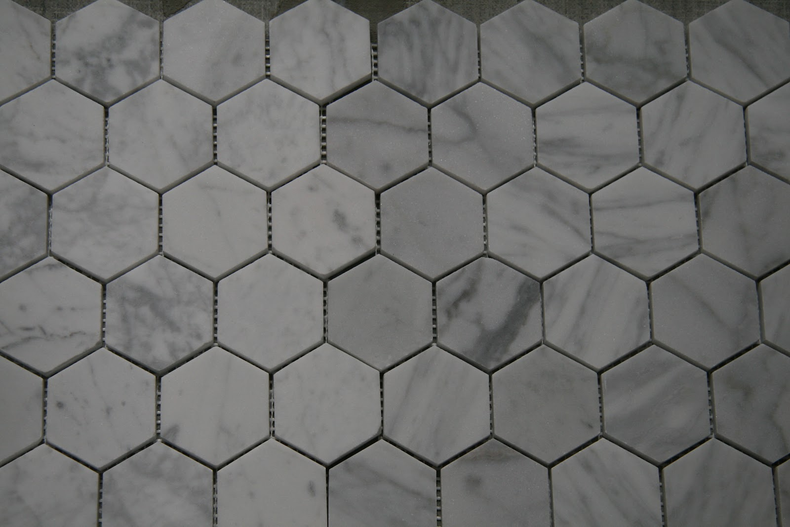 Gray Grout And Tiles