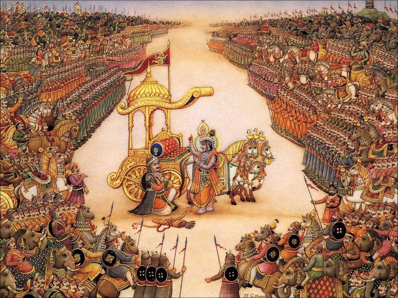 Datazione scientifica della guerra Mahabharata