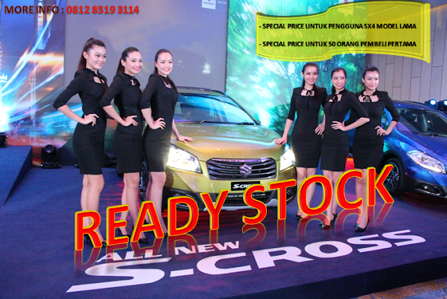 NEW SX4 S-CROSS READY STOCK