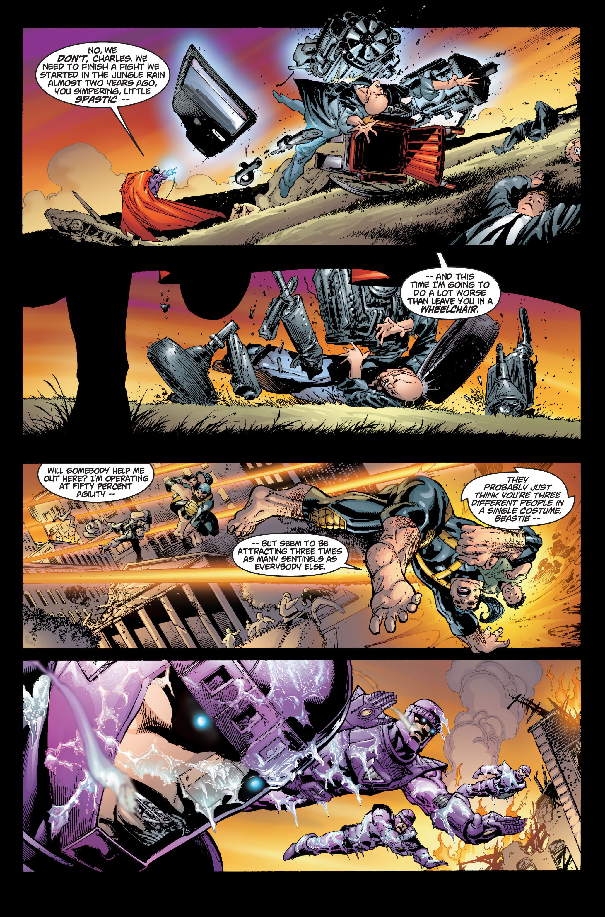 Read online Ultimate X-Men comic -  Issue #6 - 12