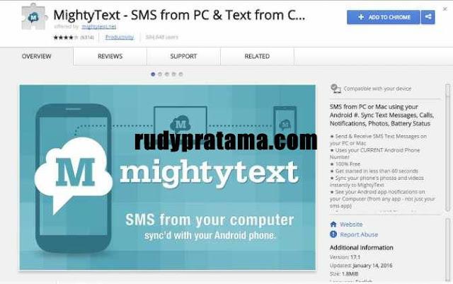 Cara Mengirim dan Menerima SMS Android di Komputer
