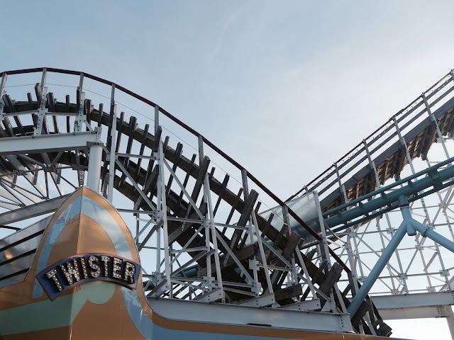 Photo of Twister Roller Coaster at Grona Lund