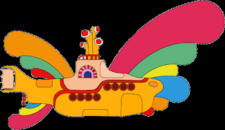Beatles Yellow Submarine Free Printable Image.