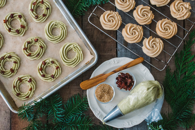 Spritz Cookies (AIP, Paleo, Gluten-free)